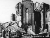 Debata w Starostwie Powiatowym  o zniszczeniach wojennych Jasła.