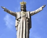 Poświęcenie Pomnika Chrystusa Króla w Jaśle.